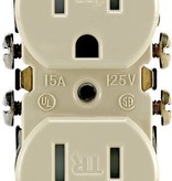 LEVITON LEVITON TAMPER RES ISTANT 15A GRD OUTLET IV