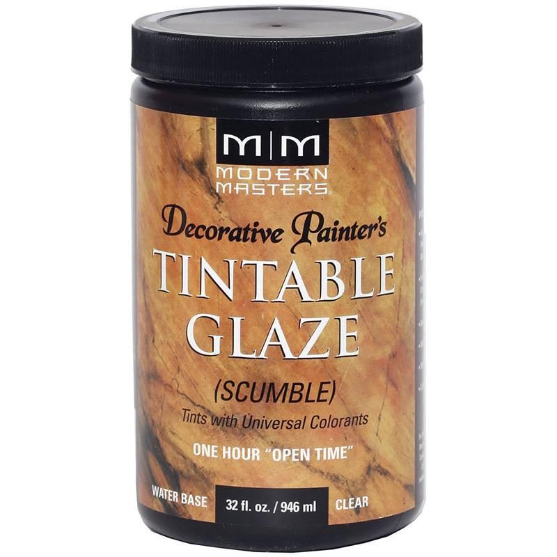 DECORATIVE PAINTER'S TINTABLE GLAZE 32 OZ