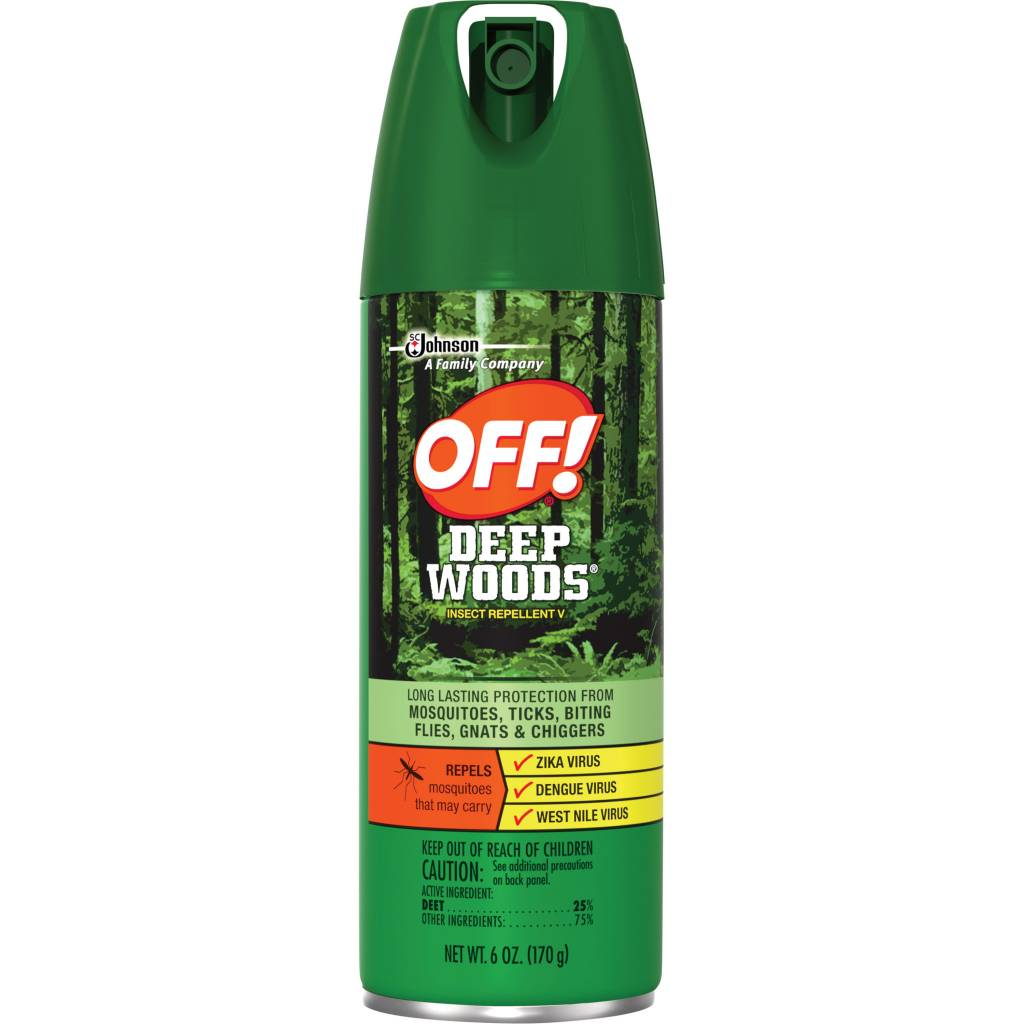 6OZ UNSCENTED DEEP WOODS OFF AEROSOL