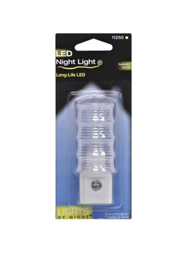 NIGHT LIGHT LED BASIC WHITE 1/PK