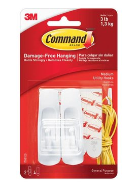 3M Medium Command Hooks