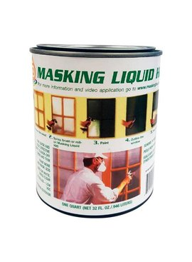 MASKING LIQUID H2O QUART CLEAR