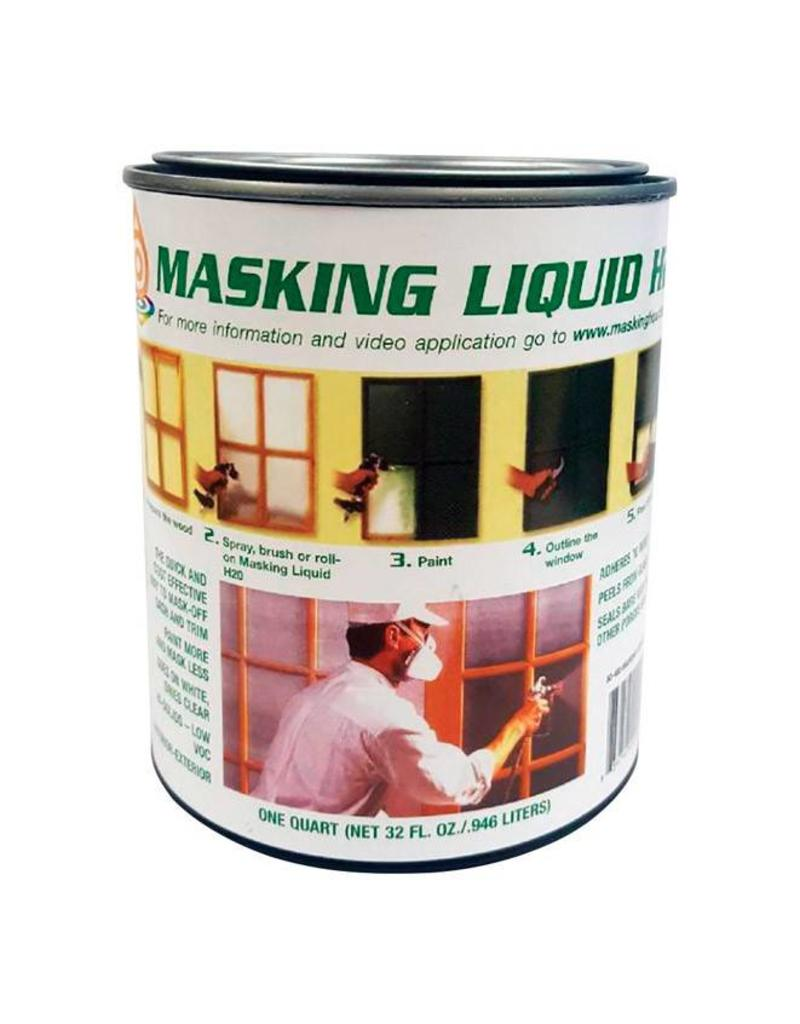 associated paint masking liquid h2o quart clear cappys paint and