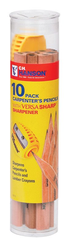 CARPENTERS PENCIL SHRP 10PACK