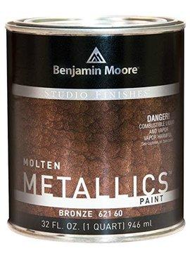 BENJAMIN MOORE STUDIO MOLTEN METAL-BRONZE QT
