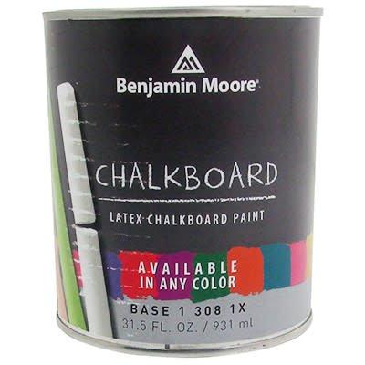 BENJAMIN MOORE CHALKBOARD PAINT 308  Quart