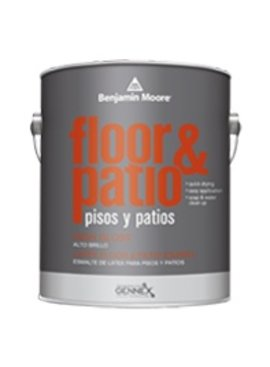BENJAMIN MOORE Latex Floor & Patio High Gloss 121 Quart