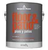 BENJAMIN MOORE LATEX FLOOR & PATIO-BASE 1 - GAL