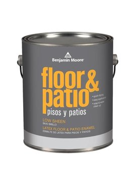BENJAMIN MOORE Latex Floor and Patio Low Sheen N122 Gallon
