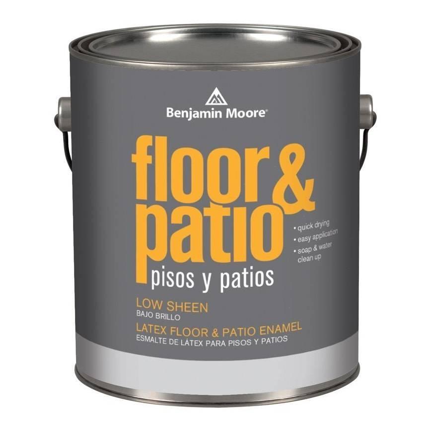 BENJAMIN MOORE Latex Floor and Patio Low Sheen N122 Gallon
