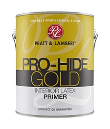 PRATT&LAMBERT PRO-HIDE GOLD INTERIOR LATEX PRIMER 1 GAL