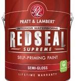 PRATT&LAMBERT z2591 Redseal Supreme Semi-Gloss Quart