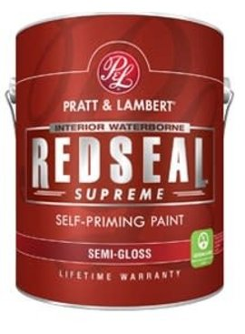 PRATT&LAMBERT REDSEAL Supreme Semi Gloss Quart