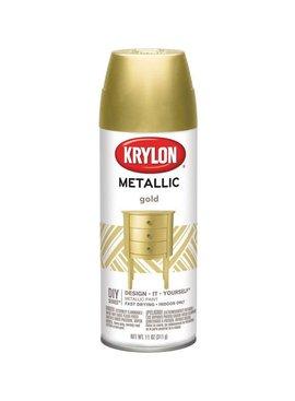KRYLON PAINTS KRYLON METALLIC GOLD 12 OZ