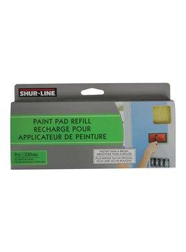 "SHUR-LINE INC SHUR-LINE  9"" PREM IUM PAD PAINTER REFILL"