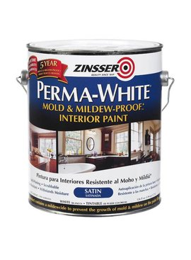 RUST-OLEUM CORPORATION GAL PERMA-WHITE MILDEW PROOF INT WHT SATIN