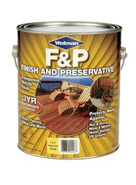 WOLMAN  F&P GOLDEN PINE PREMIUM WOOD FINISH - GAL