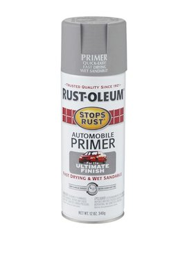 RUST-OLEUM CORPORATION 12 OZ STOPS RUST LIGHT GRAY AUTO PRIMER
