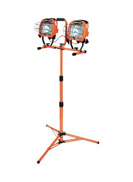 WOODS INDUSTRIES 1000W HALOGEN TRIPOD WORK LIGHT