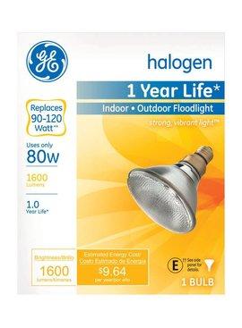 GENERAL ELECTRIC 90W PAR 38 INDOOR/OUTDOOR FLOODLIGHT 90PARH1500FL25TP