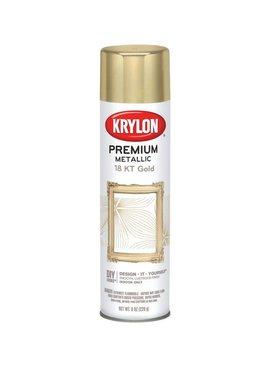 KRYLON PAINTS KRYLON METALLIC 18KT GOLD 8OZ