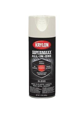 KRYLON PAINTS KRYLON SUPERMAXX GLOSS ALMOND 12 OZ
