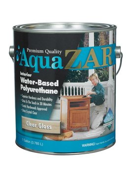 UGL LABS INC AquaZar Wood Finish: Pint/Quart/Gallon, Multiple Finishes