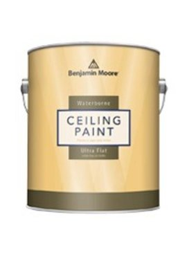 BENJAMIN MOORE CEILING PAINT ULTRA FLAT FIVE GALLON