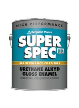 BENJAMIN MOORE URETHANE ALKYD GL0SS  SAFETY BLACK  GALLON