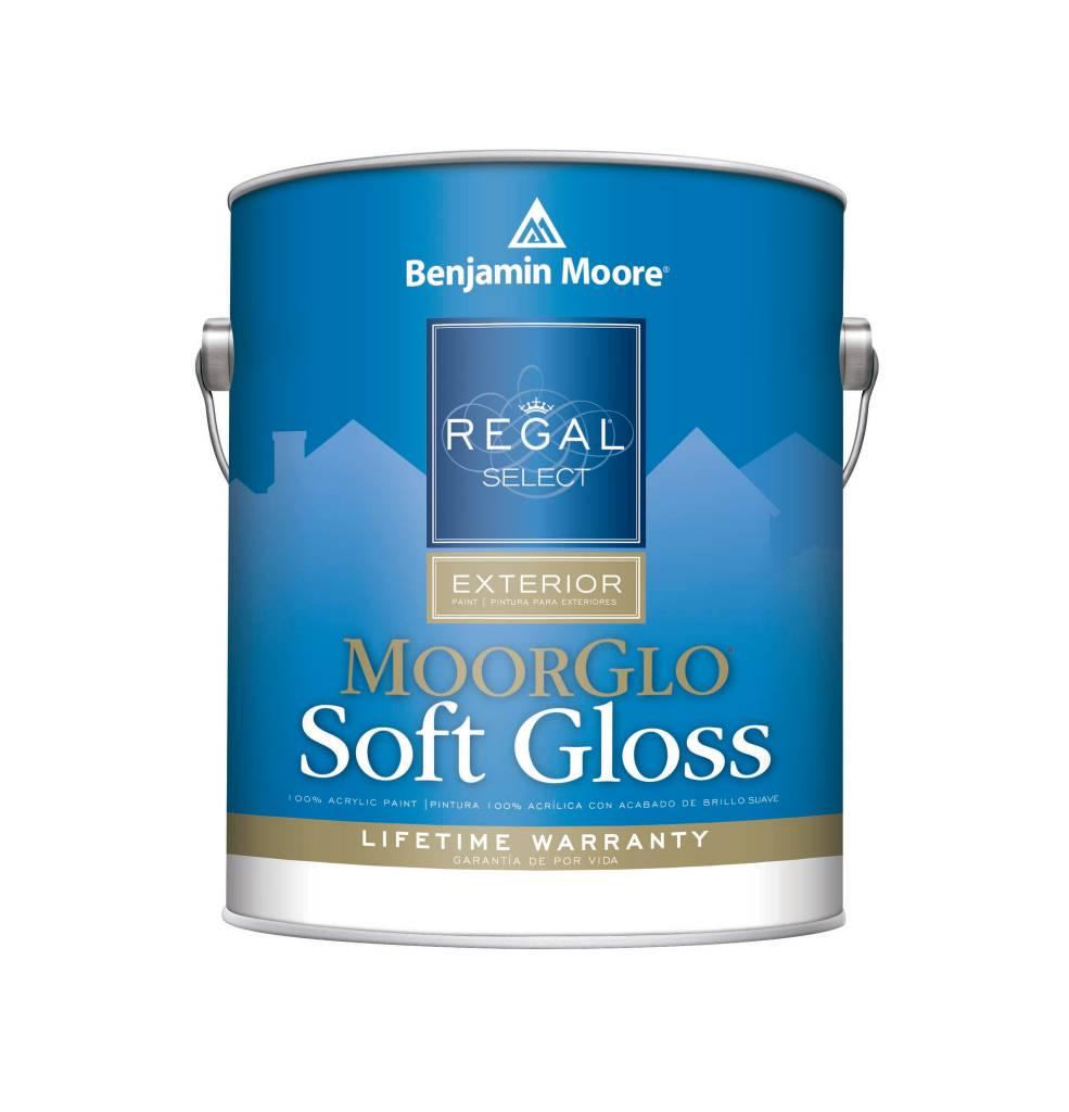 W096 regal exterior moorglo soft gloss gallon cappys - Benjamin moore regal select exterior ...