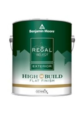BENJAMIN MOORE REGAL SELECT EXTERIOR FLAT GALLON
