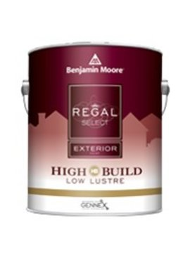 BENJAMIN MOORE REGAL SELECT EXTERIOR LOW LUSTER GALLON