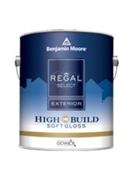 BENJAMIN MOORE REGAL SELECT EXTERIOR SOFT GLOSS GALLON