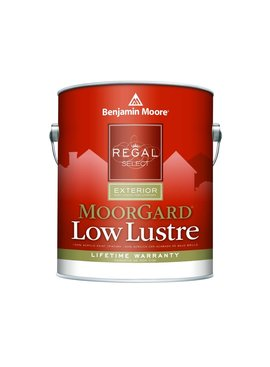 BENJAMIN MOORE REGAL EXTERIOR MOORGARD  LOW LUSTER GALLON