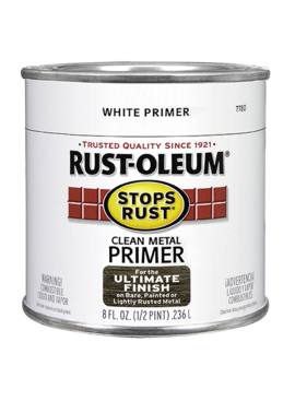 RUST-OLEUM CORPORATION RUST-OLEUM WHITE CLEAN METAL PRIMER QUART
