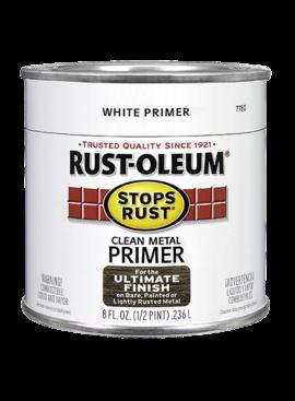 RUST-OLEUM CORPORATION RUST-OLEUM WHITE CLEAN METAL PRIMER QUART