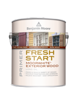 BENJAMIN MOORE FRESH START MOORWHITE PRIMER GRAY GALLON