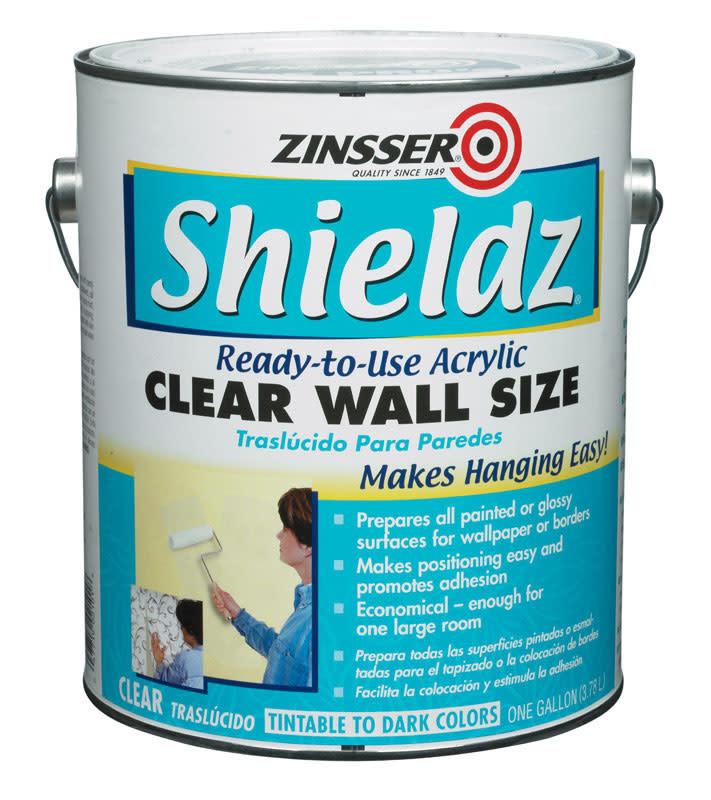 SHIELDZ CLEAR WALLPAPER PRIMER ACRYLIC GALLON