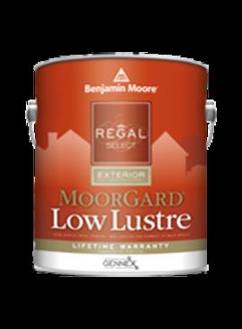 BENJAMIN MOORE REGAL EXTERIOR MOORGARD LOW LUSTER FIVE GALLON