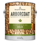 BENJAMIN MOORE 0640 ARBORCOAT Solid Deck and Siding Stain Pint