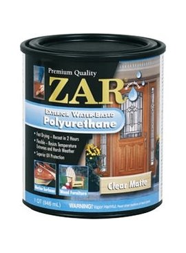UGL LABS INC Zar Exterior Water Based Polyurethane: Quarts, Multiple Finishes