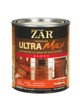 UGL LABS INC Zar Ultra Max: Quart/Gallon, Multiple Finishes