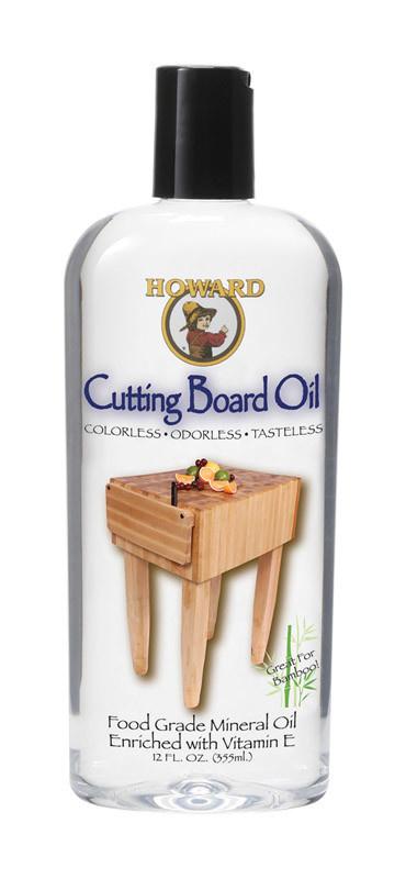 HOWARD  12 OZ BUTCH BLK / CUTTING BOARD OIL