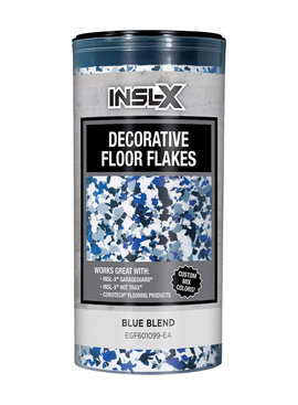 BENJAMIN MOORE Inslx Decorative Floor Flakes Blue