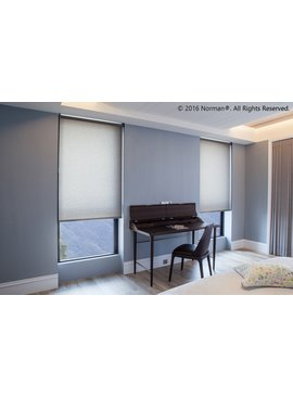 Norman Window Shades Soluna™ Cordless Standard Fabric Roller Shades