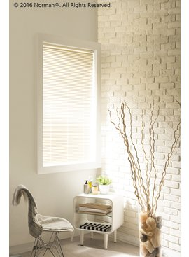"Norman Window Shades CityLights™ Aluminum Blinds 18""- 36"" Width"