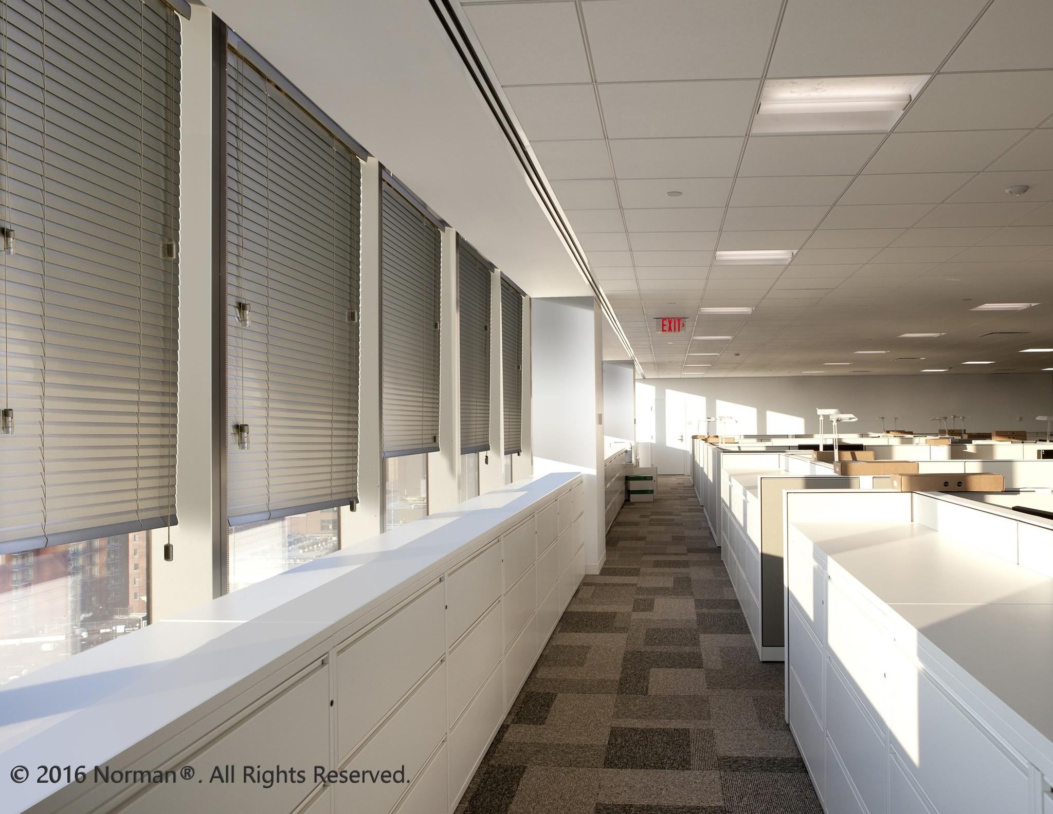 "Norman Window Shades CityLights™ Aluminum Blinds 42""- 66"" Width"
