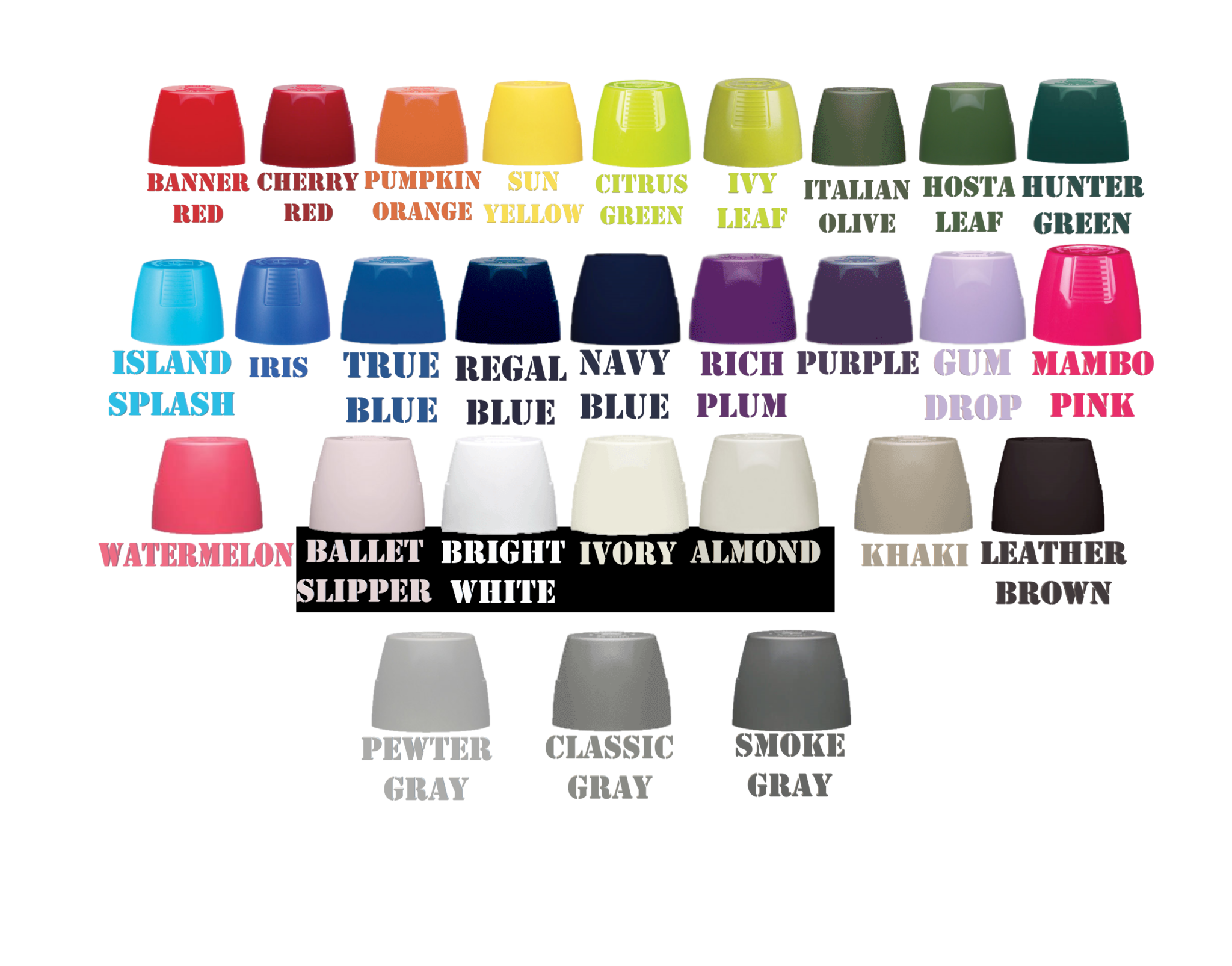 kYRLON SPARAY PAINT COLORS