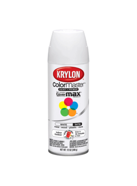 KRYLON PAINTS Krylon White 12oz Spray Paint