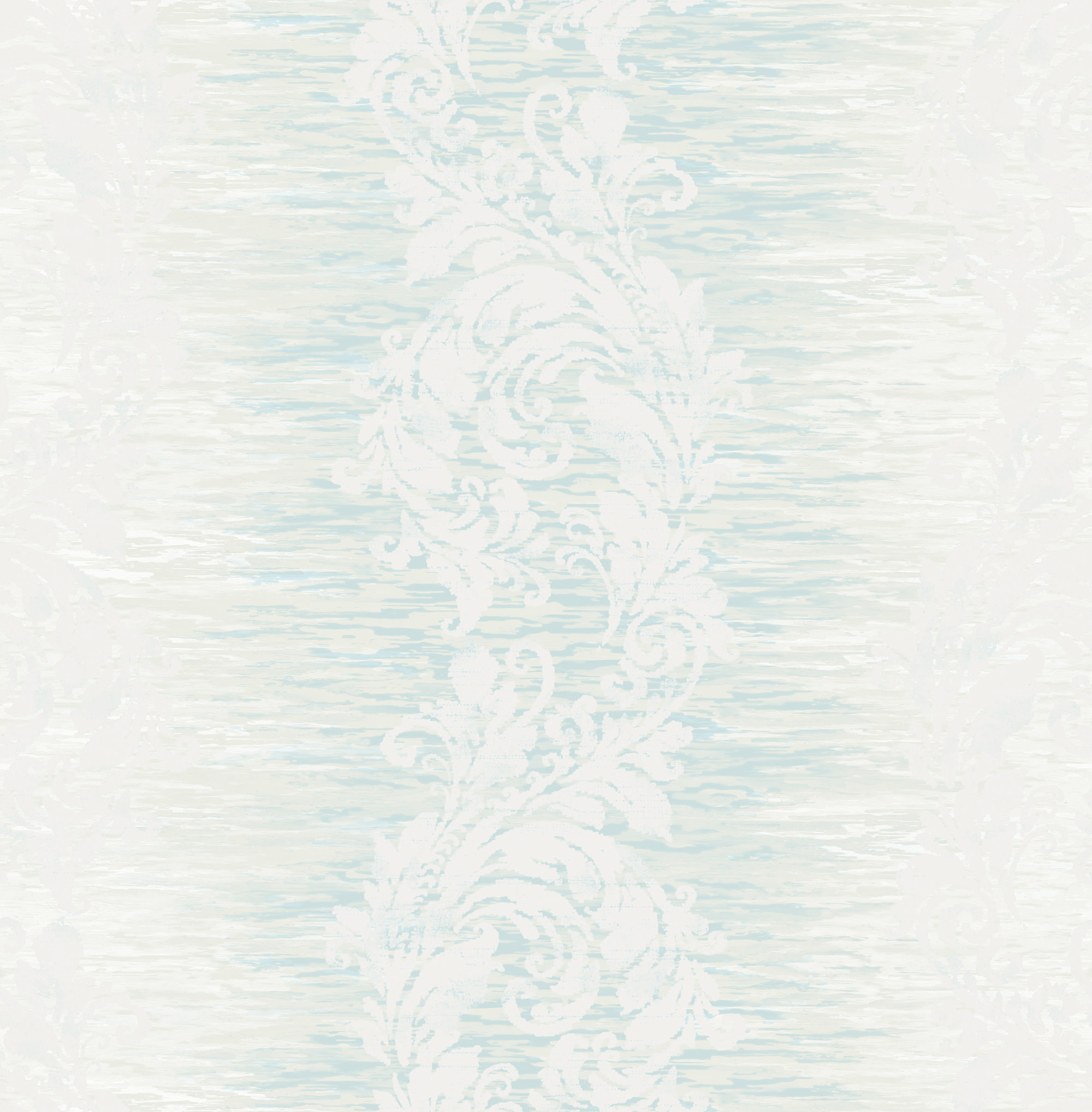 Wallquest Damask Stripe